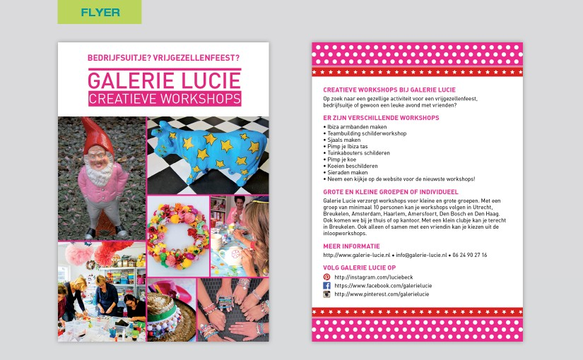 Galerie Lucie – Creatieve workshops