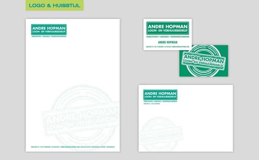 André Hopman – Loon- en verhuurbedrijf