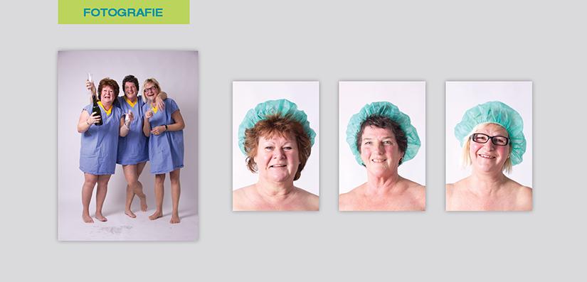 Klinische en blonde fotografie